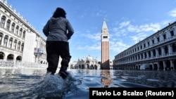 Poplavljeni Trg Svetog Marka