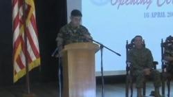 2012-04-16 粵語新聞: 中菲關係緊張之際美菲舉行軍事演習