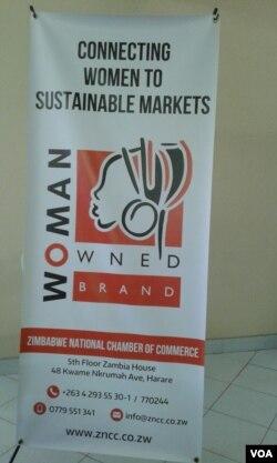 IZimbabwe National Chamber of Commerce izama ukuthuthukisa amabhizimusi abesifazane.