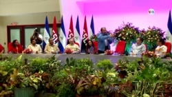 Daniel Ortega culpa a opositores por sanciones de Estados Unidos contra su familia