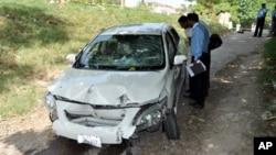 2013年5月3日巴基斯坦喬杜里‧佐勒菲卡爾檢察官在伊斯蘭堡被槍殺,警方在他的坐車搜尋證據