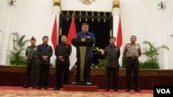 Presiden Susilo Bambang Yudhoyono mengatakan pemerintah telah mengantisipasi pembubaran BP Migas. (Foto: Dok)