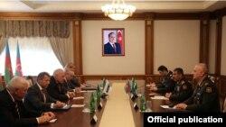 Zakir Həsənov ATƏT-in Minsk qrupunun həmsədrləri ilə görüşüb