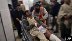 Bomb Blast in Peshawar Movie Theater