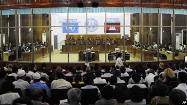 Khmer Rouge tribunal in Cambodia (file photo)