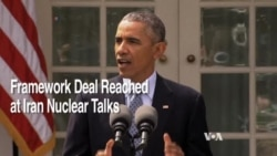 World Leaders React to Iran Nuclear Framework Deal
