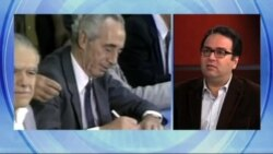 روایت محمد منظرپور از مصاحبه هفت سال پیش با شیمون پرز