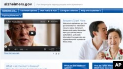 Nuevo portal único — www.alzheimers.gov— en el que los estadounidenses podrán recibir información sencilla sobre la demencia y dónde conseguir ayuda en sus comunidades.