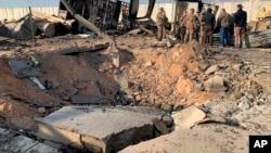 تصاویر پس از حمله ایران بر پایگاه الاسد عراق