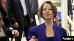 Australia's Prime Minister Julia Gillard in New York, September 24, 2012.