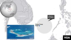 Штучний острівець Fiery Cross Reef