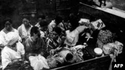 Cinsel köle olarak kışladan kışlaya taşınan Koreli kadınlar