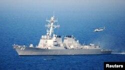 Tàu khu trục Hoa Kỳ Preble.