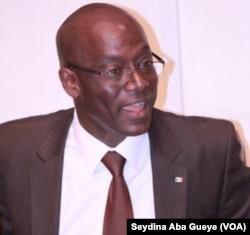 Thierno Alassane Sall, à Dakar, Sénégal, le 12 avril 2017. (VOA/Seydina Aba Gueye)