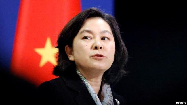 Juru bicara Kemlu China, Hua Chunying