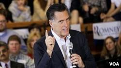 Kandidat capres AS partai Republik, Mitt Romney (Foto: dok)