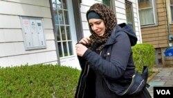 Katherine Russell, vợ của nghi can đã chết Tamerlan Tsarnaev.