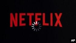 Logo của Netflix trên một thiết bị di động.