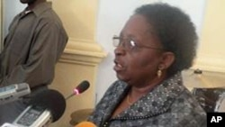Candida Celeste da Silva, governadora do Namibe