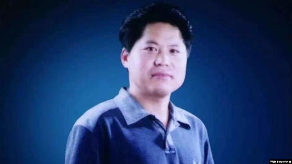 独立�文笔会成员山东诗人鲁扬。(截图自维权网)