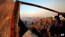 Kebakaran di kota Valparaiso, Chili