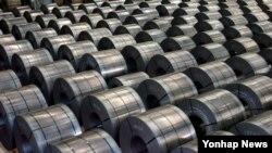 南韓同意每年對美國的鋼產品出口不超過270萬噸