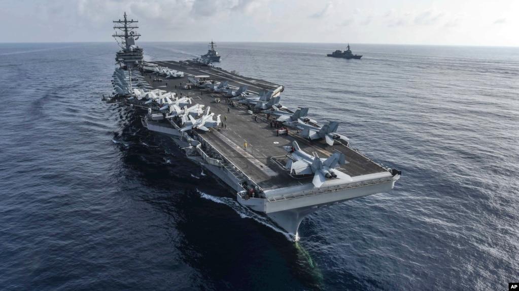 La 7ª Flota de la Armada de EE.UU. dijo que el F/A-18 Hornet tuvo un problema mecánico durante operaciones de rutinas.