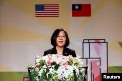 资料照:台湾总统蔡英文