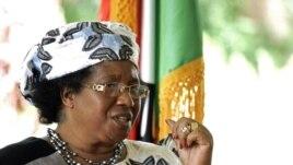 Malawi President Joyce Banda (2012 photo)