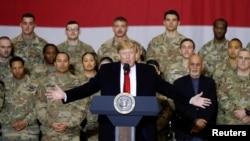 Predsednik SAD tokom nenajavljene posete Avganistanu na Dan zahvalnosti 2019.