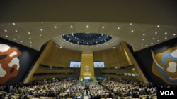 Suasana Sidang Majelis Umum PBB tahun 2011 (foto:dok).