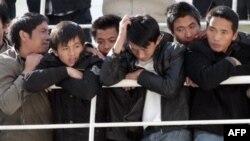 Эвакуированные из Ливии граждане Китая