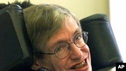 Professor Stephen Hawking's smiles