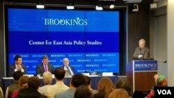 7일미국 워싱턴의민간단체인브루킹스연구소에서대북 제재의 효과에 대한 토론회가 열렸다.