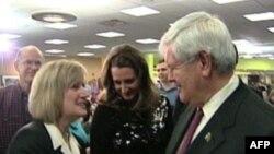 Newt Gingrich kryeson në garën e republikanëve për president