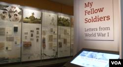 نمایشگاه «همرزمان من – نامه هایی از جنگ جهانی اول»