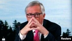 Jean-Claude Juncker, président de la Commission européenne, sommet du G-7, La Malbaie, Québec, Canada, le 9 juin 2018.