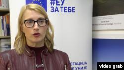 Zamenica ambasadora Delegacije EU u Srbiji, Mateja Norčič Štamcar, Foto: video grab