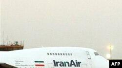 Самолет иранских авиалиний