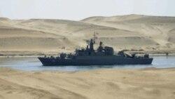 کشتی های جنگی ایران وارد مدیترانه می شوند