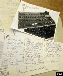 Mnoga ručno napisana pisma se digitalno arhiviraju