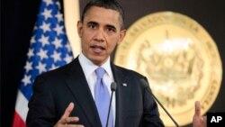 پافشاری اوباما در تصویب طرح ایجاد مشاغل