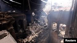 Kota tua Aleppo, yang telah dimasukkan menjadi warisan dunia oleh UNESCO hancur akibat peperangan di sana (foto: dok).