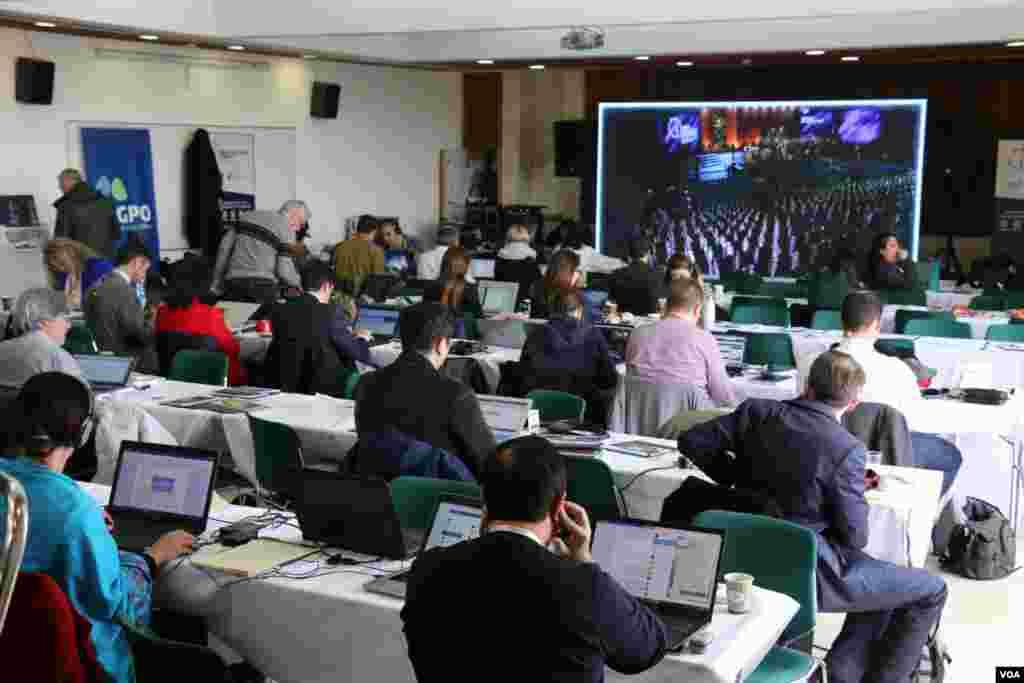 خبرنگاران رسانههای بین المللی برای پوشش پنجمین نشست جهانی هولوکاست در اورشلیم حضور دارند.