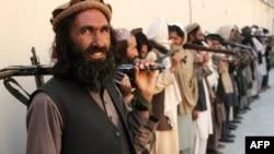 Les talibans en Afghanistan.