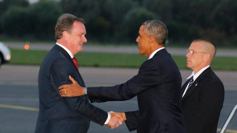 Obama Arrives in Estonia to Reassure Baltic States