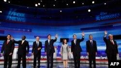Участники дебатов в Айове