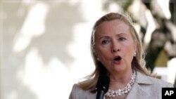 ທ່ານນາງ Hillary Clinton ລັດຖະມົນຕີຕ່າງປະເທດສະຫະລັດ