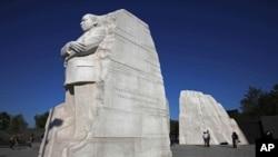 واشنگٹن میں قائم مارٹن لوتھر کنگ جونیئر کی یادگار
