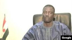 Le ministre de la Justice Marou Amadou, à Niamey au Niger le 6 décembre 2013.